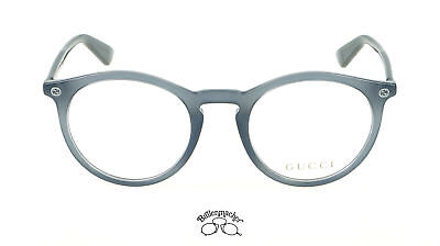Original Gucci Brillenfassung Brille GG0121O  Farbe 005 grau