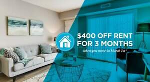 Pet-Friendly 2 Bedroom 1 Bathroom with In-suite Laundry for...