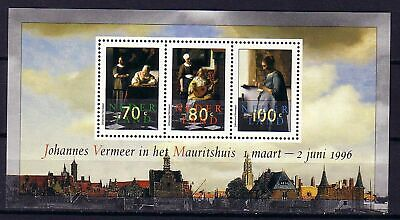 Niederlande Block  46  ** Vermeer gemälde  ()