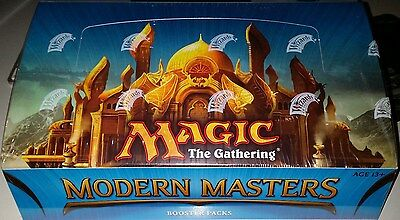 2013 Magic The Gathering  Mtg  Modern Masters Factory Sealed 6 Box Booster Case