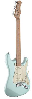 Guitarra Eléctrica Con Sólido Cuerpo de Aliso En Vintage Estilo En Sonic...