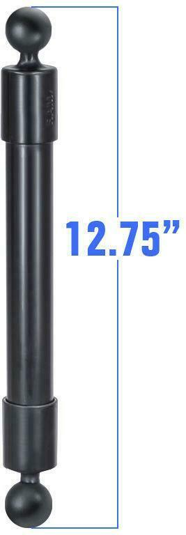 "RAP-BB-230-14U RAM Mounts 12.75"" Long Extension Pole w/1"" Diameter Ball On Ends"