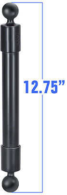 "RAP-BB-230-14U RAM Mounts 12.75"" Long Extension Pole w/1"" Diameter Ball On Ends"