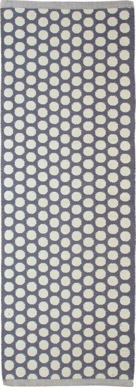 Aspegren Teppich Läufer Küchenteppich Punkte dots 70 x 200