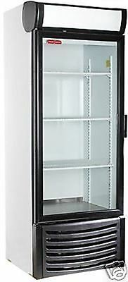 Torrey R-14 1 One Door Glass Cooler Refrigerator Merchandiser Display 27 X 74h