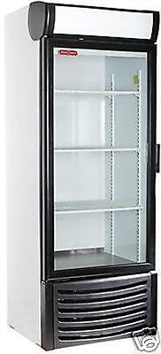 Torrey R-14 1 One Door Glass Cooler Refrigerator Merchandiser Display 27 X 74h