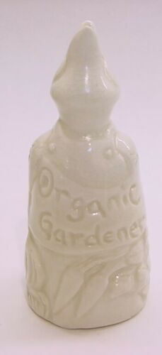 Pottery Pie Bird Vent/Funnel * Organic Gardener * made in Canada by Isao