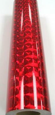 Cherry Red Mirror Lens Sign Vinyl 24 X 10 Ft Longlife