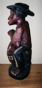 2 Large Crafted Wooden Statues Stratford Kitchener Area image 5