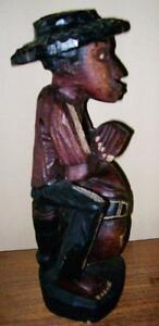 2 Large Crafted Wooden Statues Stratford Kitchener Area image 6