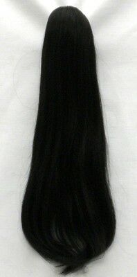 19 Long Straight Human Hair Ponytail - Shelly Hairdo