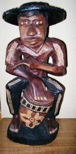 Carved Wood Statues and other Pieces