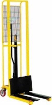 SOLLEVATORE A POMPA IDRAULICA CON PIASTRA kg. 200 h. 1600 mm