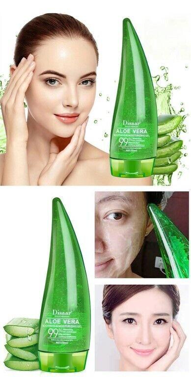 99,9% Aloe Vera Gel 100% perfekte natürliche Feuchtigkeitscreme     250 ml
