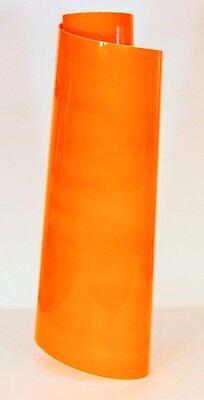 Fluorescent Orange Sign Vinyl 24 X 10 Ft Economy Grade