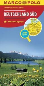 MARCO POLO Länderkarte Deutschland Süd  MARCO POLO Länderkarten MARCO POLO Reg..