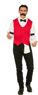 Saloon Western Bartender Old Time Dealer Adult Costume Standard