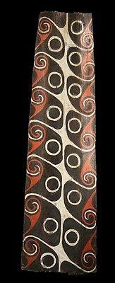 kwoma paintings, sago bark painting, simon goiyap, papua new guinea