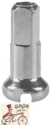 24pcs DT Swiss Squorx 15G 1.8 x 15 mm Silver Aluminum Alloy Bike Spoke Nipples