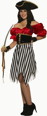 Pirate Matey (Pirate Matey Lady Adult Womens Classy Halloween Costume)