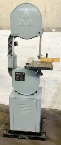 "DELTA #28-203 14"" VERTICAL BAND SAW - WOOD"