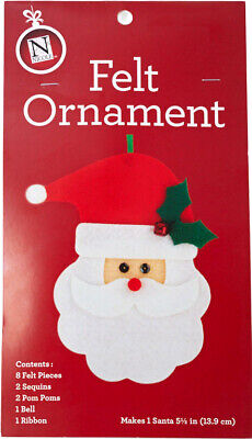 Holiday Felt Craft Kit: Make Your Own Christmas Ornament