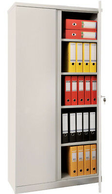 5 Shelf Safe Box M-18 Solid Steel Construction With Key And 2 Door Lock