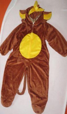 Kostüm Dschungel (Fasching Affe Dschungel Karneval Faschingskostüm Gr. 128 )