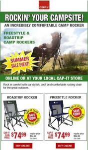 Camp chairs / Rocking chairs / Freestyle road trip camp rockers