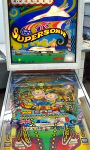 PINBALL SUPERSONIC West Island Greater Montréal image 4