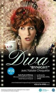 DIVA BY NIGHT - Natalie Choquette - 18 septembre 14 hre