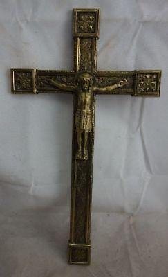 schönes Messing Kruzifix