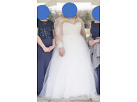 Mori Lee Wedding Dress with jacket Size 18 /20