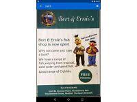 Bert & Ernie's Fish Shop SK5 6DA