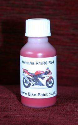 <em>YAMAHA</em> R1 R6 RED PAINT   TOUCH UP BOTTLE