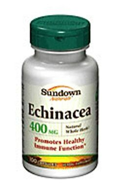 Sundown Echinacea Standardized Extract 25 mg - 100 ct  (3 PACK)