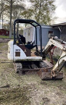 2008 Bobcat 323j Hydraulic Mini Excavator W 2 Buckets Cheap