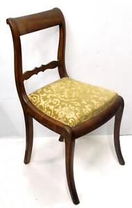 Walnut dining Chairs - set of 6