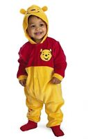 Winnie the Pooh zip up costume fits up to 9 months