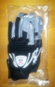 Reebok NFL Pro Velocity Padded Football Gloves