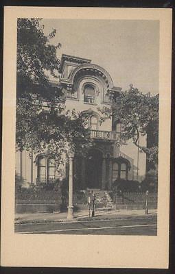 Postcard Richmond Virginia Va  Haxall House Womans Club House 1920S