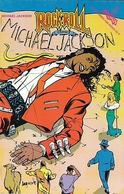Michael Jackson Life Story (Rock 'n Roll Comics #36)