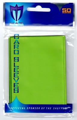 1000 Max Pro Deck Guard Protectors Gloss Gaming Standard MTG Sleeves Lime Green