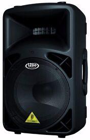 Behringer B812NEO Eurolive 1260W 12 inch PA Speaker System - RRP £270