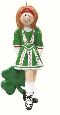 IRISH DANCER Personalized Christmas Tree Ornament for sale  Watertown