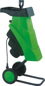 2400W ELECTRIC GARDEN SHREDDER MULCHER CHIPPER 4500 RPM BLADE 40MM MAX