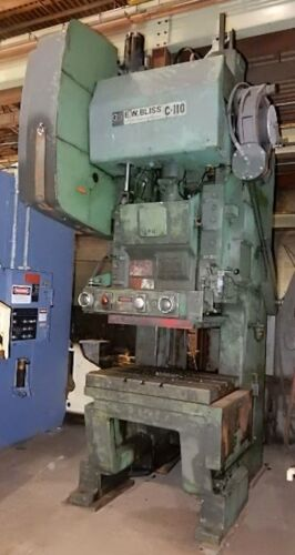 Bliss Model C110 Gap Frame Punch Press