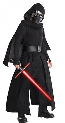 Star Wars The Force Awakens Kylo Ren Super Deluxe Adult Costume, FREE SHIPPING!