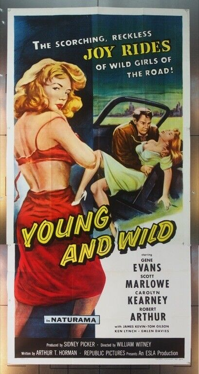 YOUNG AND WILD (1958) 15163