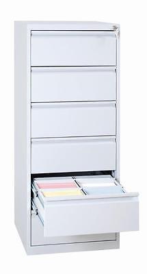 565620 Karteischrank Karteikartenschrank DIN A5 quer zweibahnig 6 Schubladen